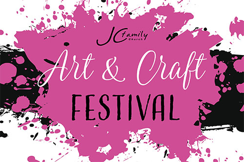 Art & Craft Festival - JC Family Church. Fundraiser for Qld School Chaplains - 2017.
