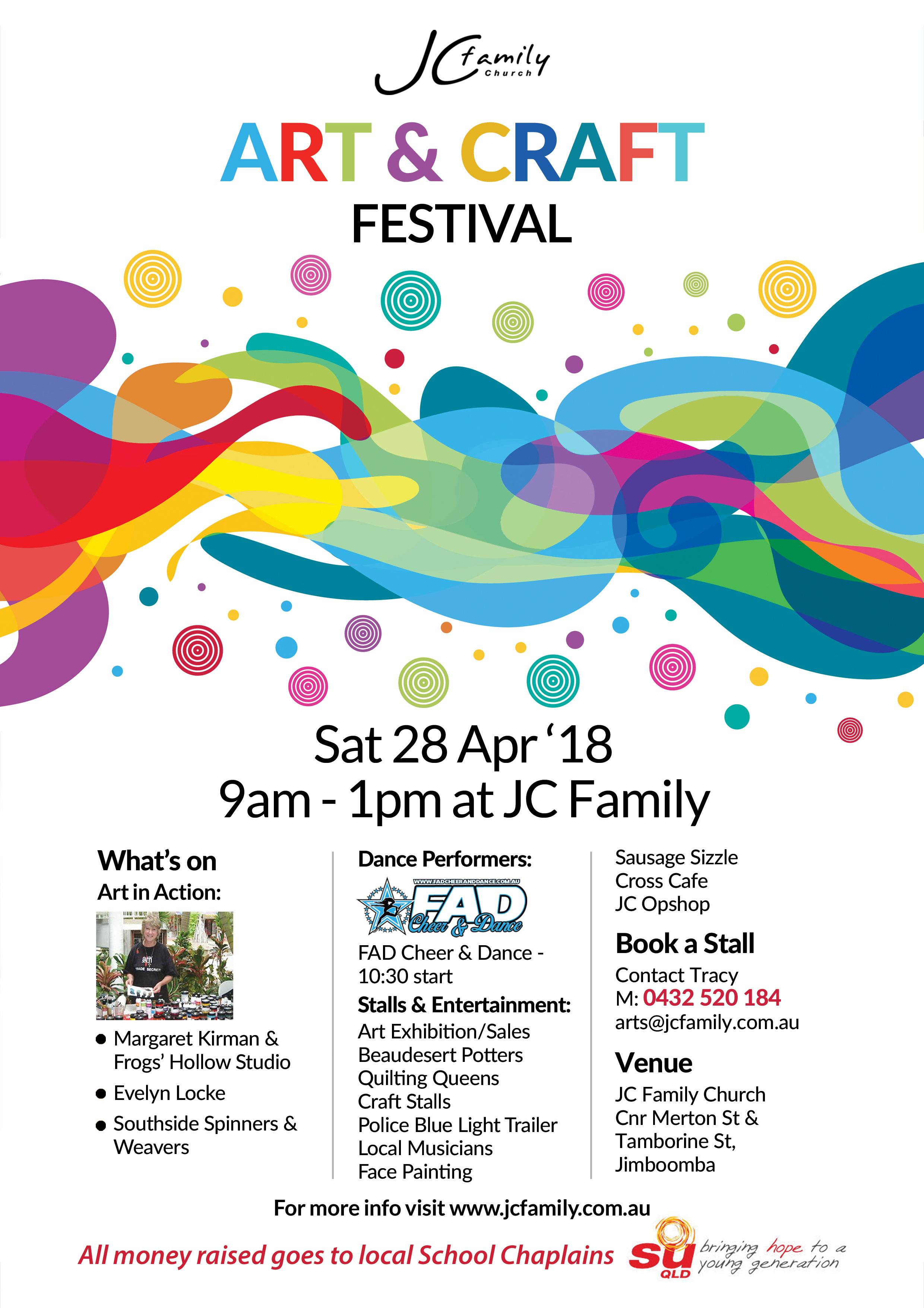 Art And Craft Festival 18 Jc Family Church Jimboomba Logan