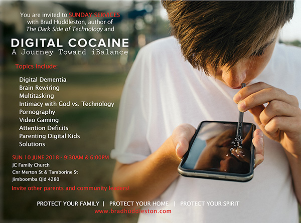 Digital Cocaine - Brad Huddleston