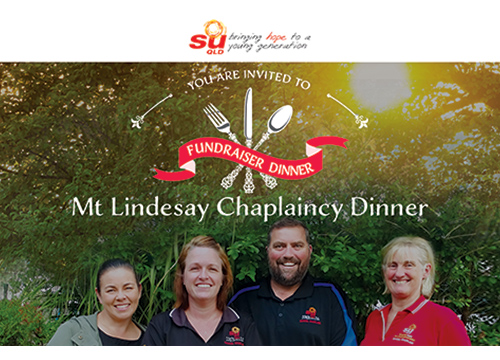 Mt Lindesay Chaplaincy Dinner - Chaplaincy Fundraiser Dinner hosted by JC Family Church