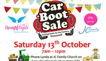 Raising Money For The Farmers - Car Boot Sale, JC Family Church, Jimboomba, Logan, Qld, Australia