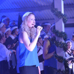 Jimboomba Christmas Carols, JC Family Church, Jimboomba. Front line vocals: Sarah Greig, Bec Cragg and Lisa Sharp.