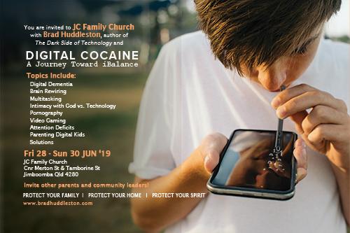 Digital Cocaine - Brad Huddleston - Hosted by JC Family Church 2019, Jun 28-30, 2019