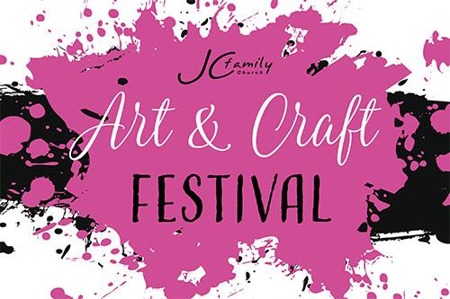 Art & Craft Festival - JC Family Church. Fundraiser for Qld School Chaplains - 2017.
