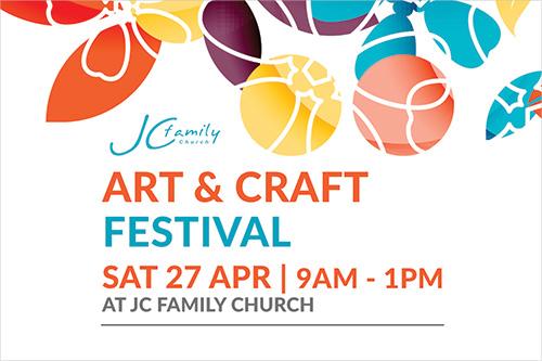 Art & Craft Festival 2019 - JC Family Church, Jimboomba. Raising money for local School Chaplains.